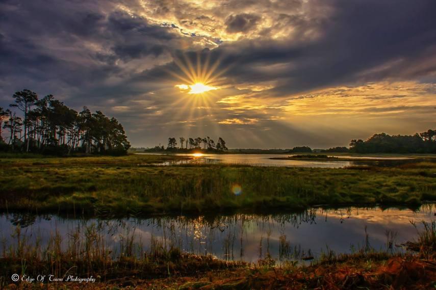 Sunrise on Chincoteague Island