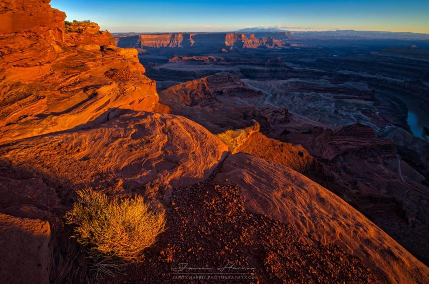 Sunset at Dead Horse Point State Park