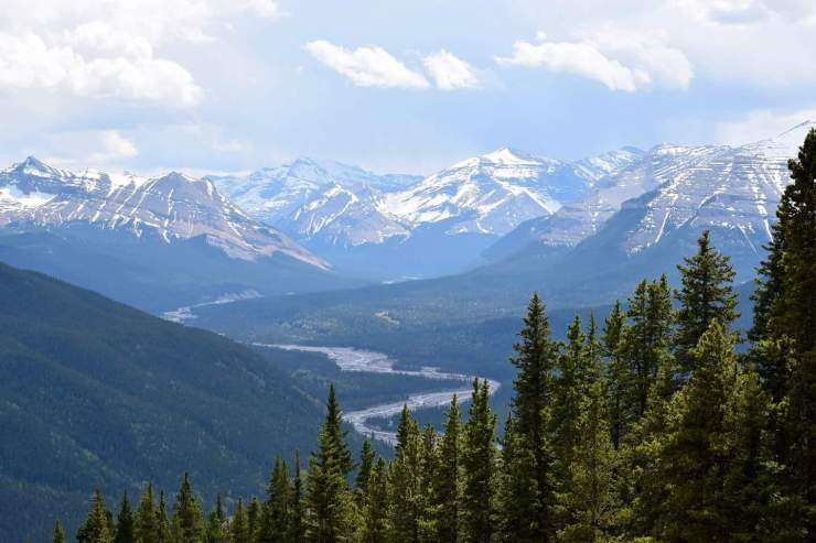 Powderface Ridge Mountain