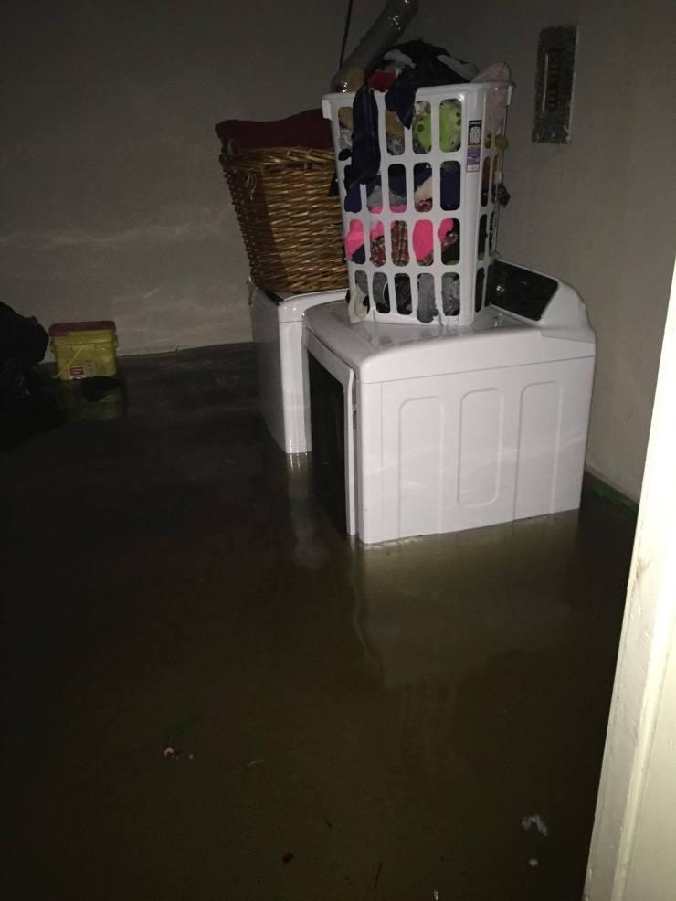Harvey flooding inside the house. #2