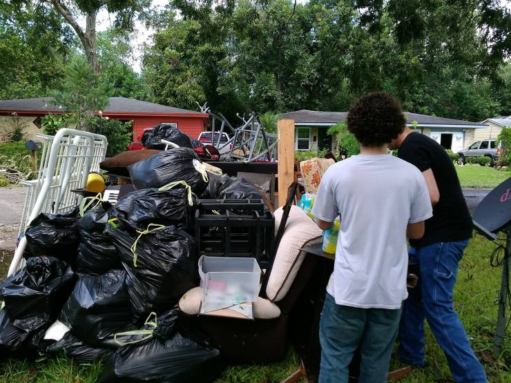 Items destroyed by hurricane Harvey